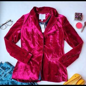 Velvet Anthropologie blazer, size 4, new with tags